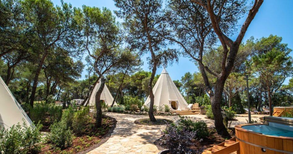 8 bijzondere plekken om te kamperen in Kroatië