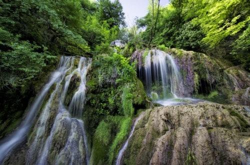 Salto Grand, een van de verborgen watervallen.