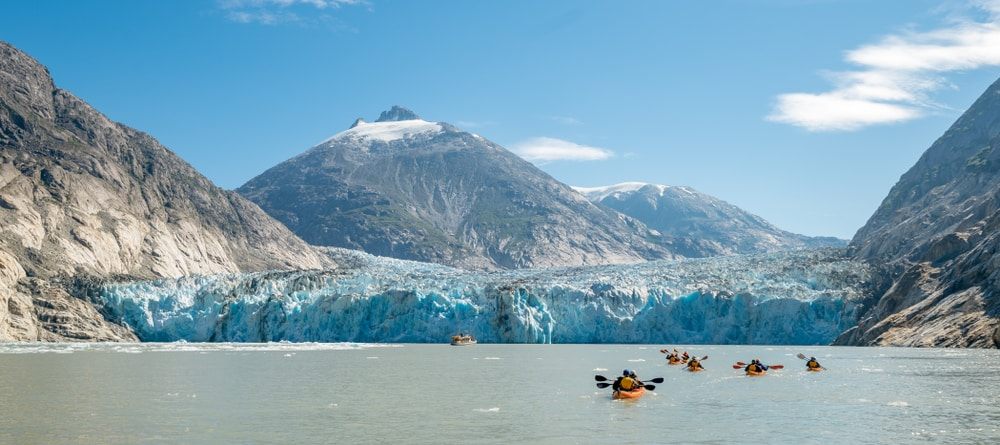 Glacier Bay National Park, een must visit in Alaska.