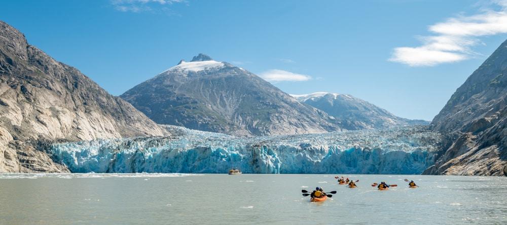Glacier Bay National Park, een must visit in Alaska.