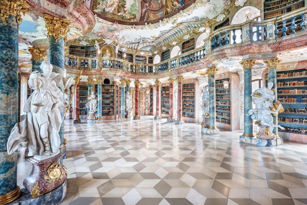 Klooster Wiblingen - Ulm, Duitsland