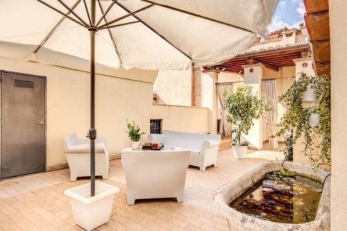La Maison d'Art Luxury Suite in Rome, Italië.