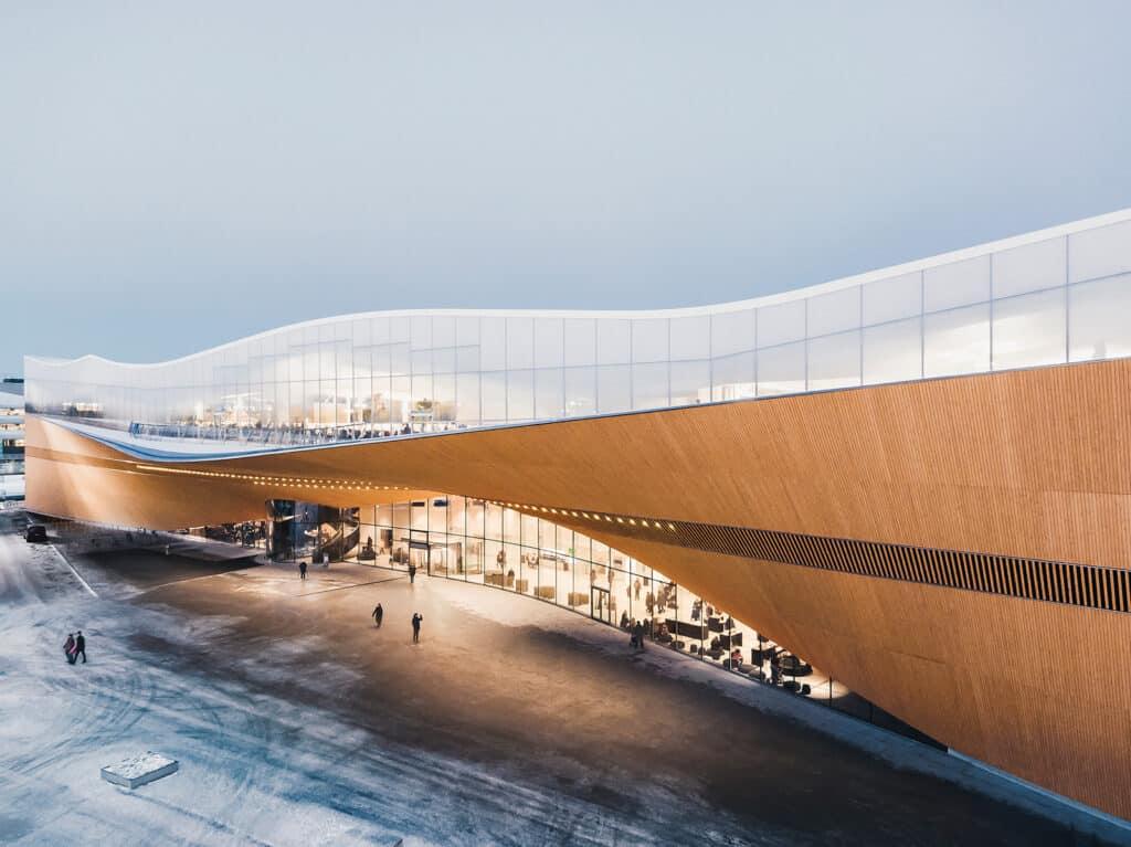 Centrale bibliotheek Oodi - Helsinki, Finland