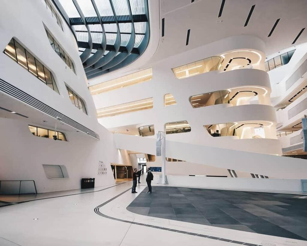 Wirtschaftsuniversität Bibliotheek - Wenen, Oostenrijk