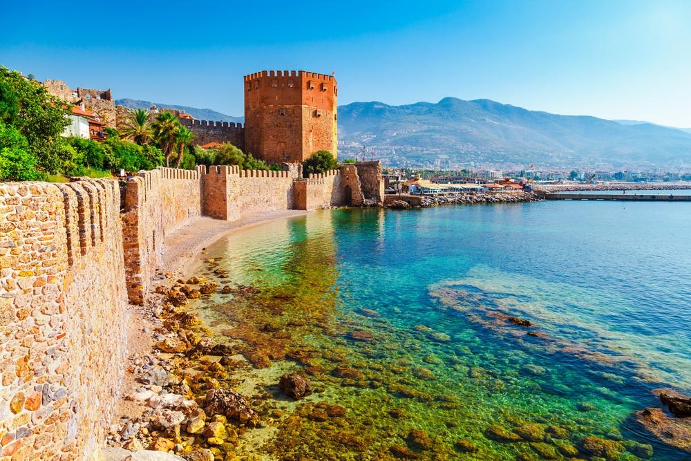 Alanya, de hoofdstad van de Turkse Riviera.