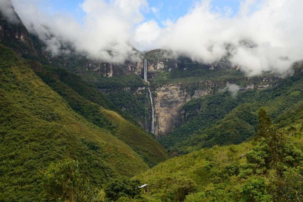 Gocta waterval, de 15e hoogste waterval ter wereld.