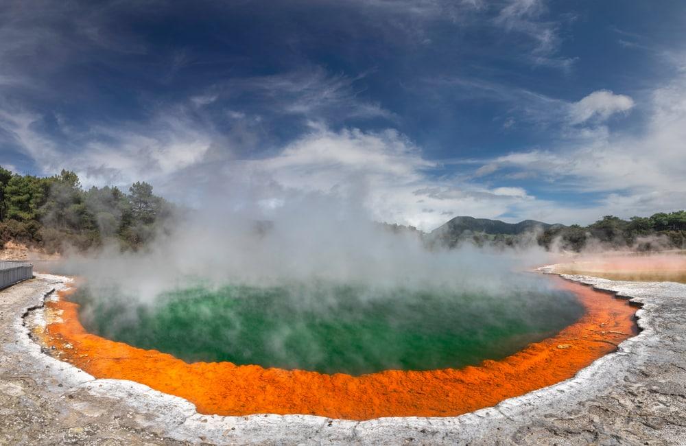 Waiotapu Thermal Wonderland in Rotorua, Nieuw-Zeeland.