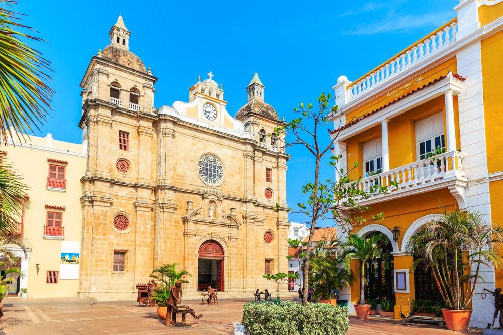 Cartagena, openluchtmuseum van Colombia