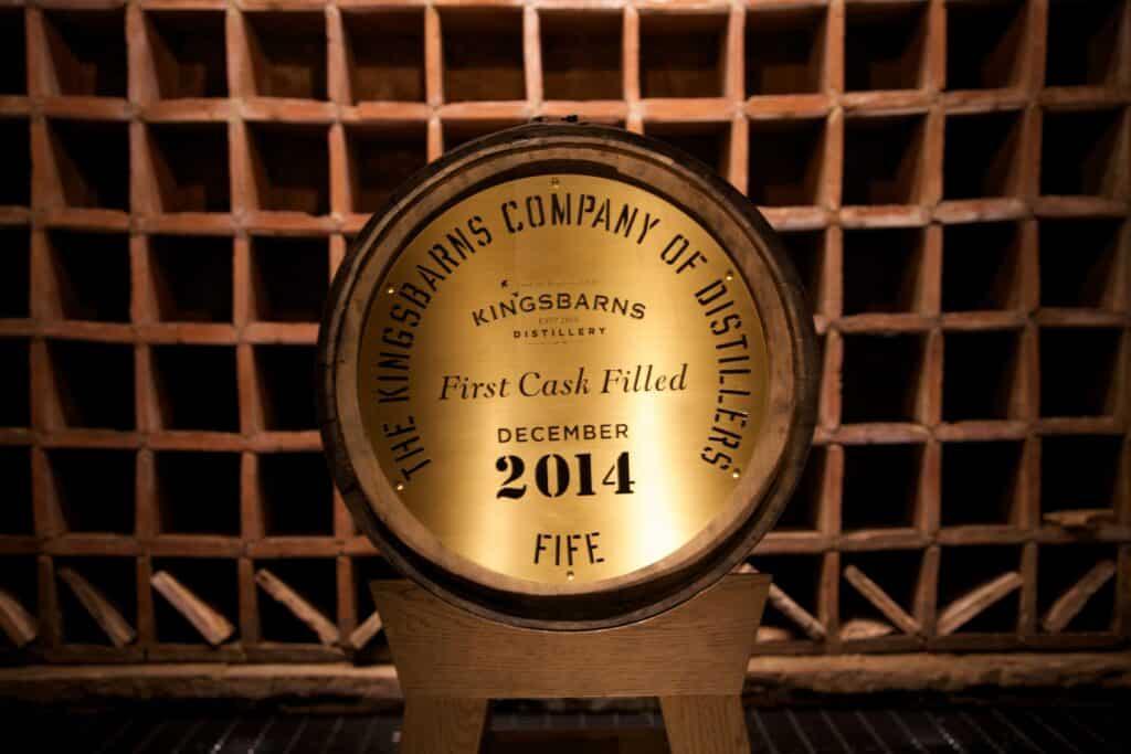 Kingsbarns distilleerderij, Fife.