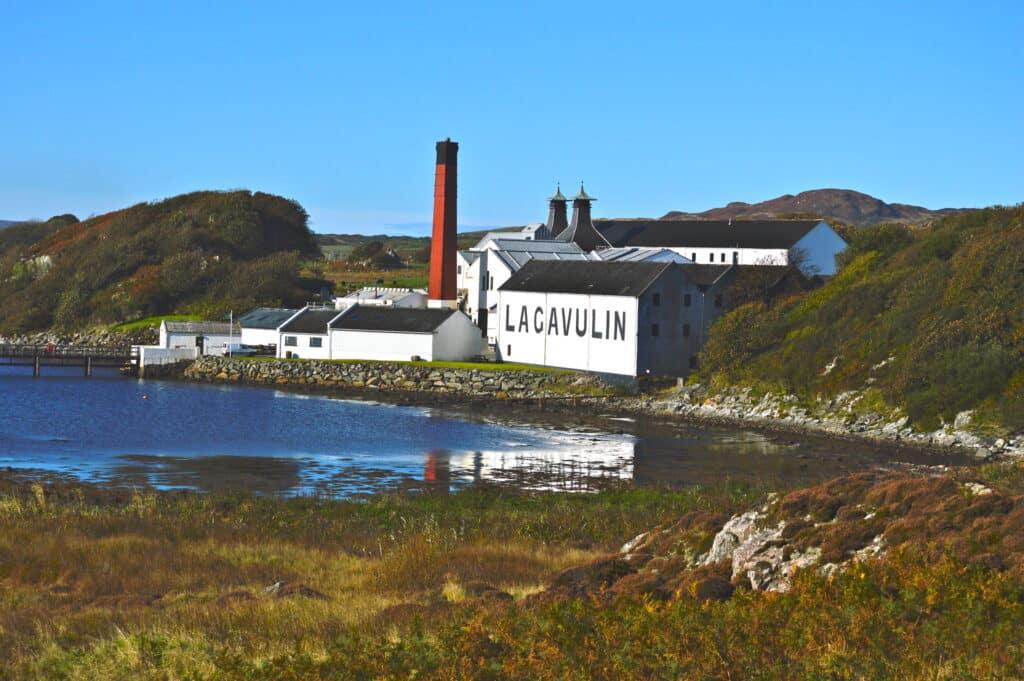 Lagavulin distilleerderij, Islay.