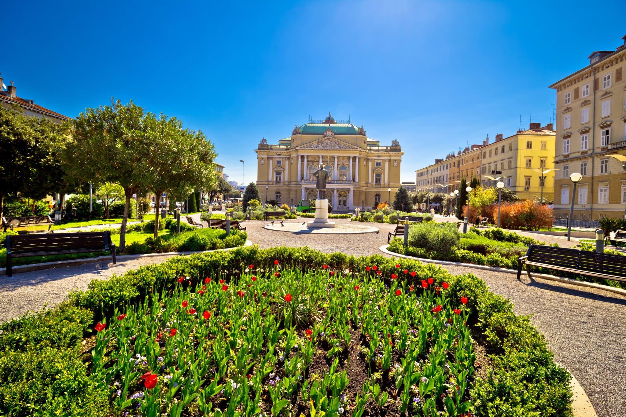 Kroatische Rijeka is Europese Culturele Hoofdstad in 2020