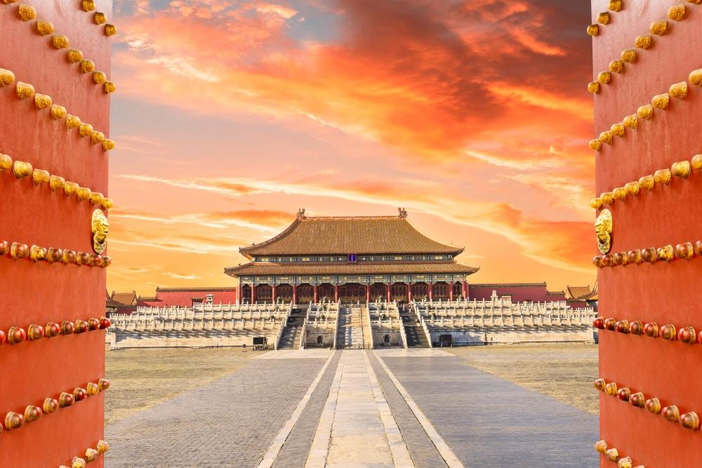 Verboden Stad in Beijing