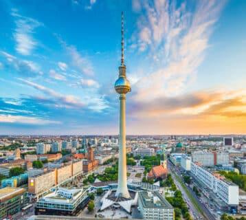 Berlijn en haar uitzicht