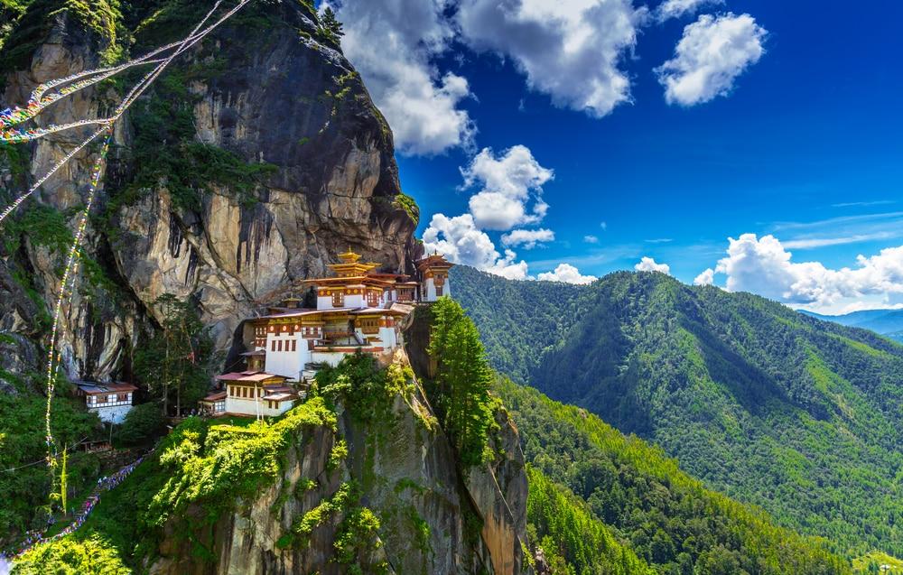 Taktshang Goemba, het klooster in Bhutan