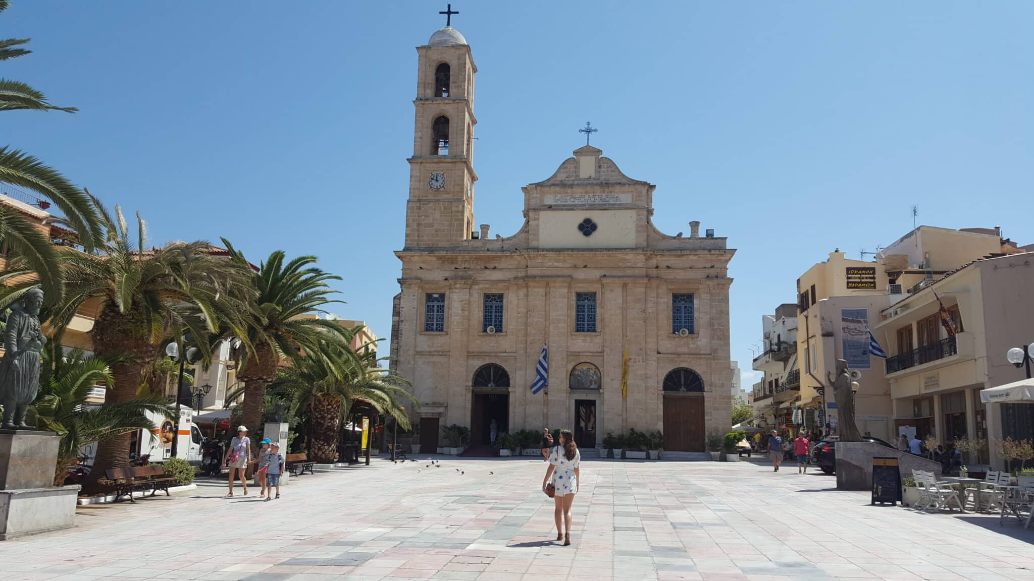 De oude hoofdstad van Kreta