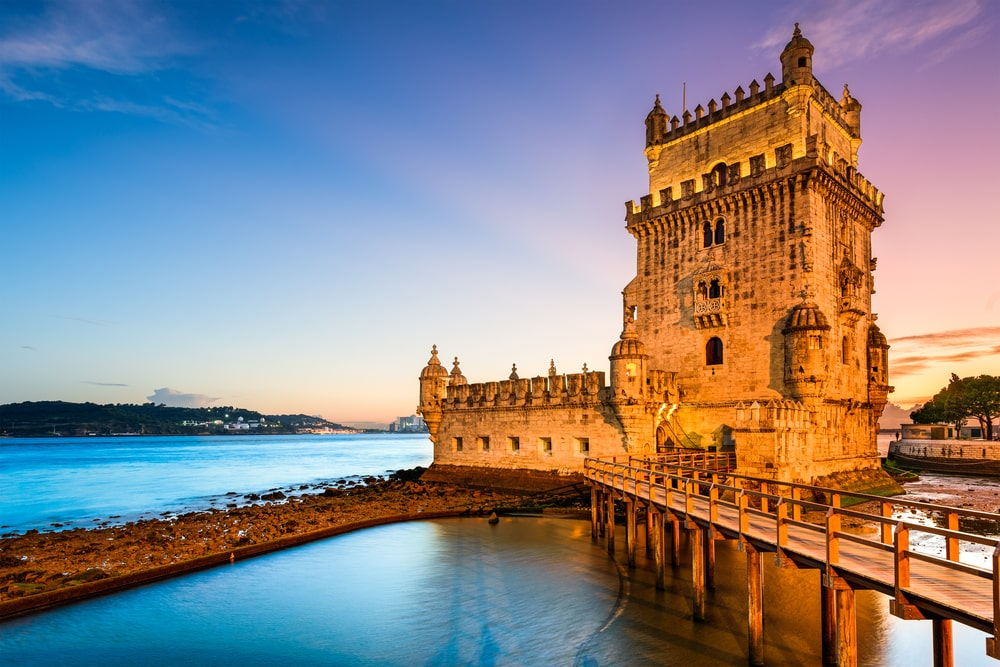 Toren van Belem in Lissabon