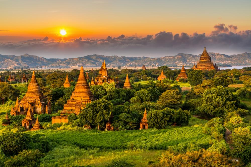 Een prachtig land van Azië, Myanmar