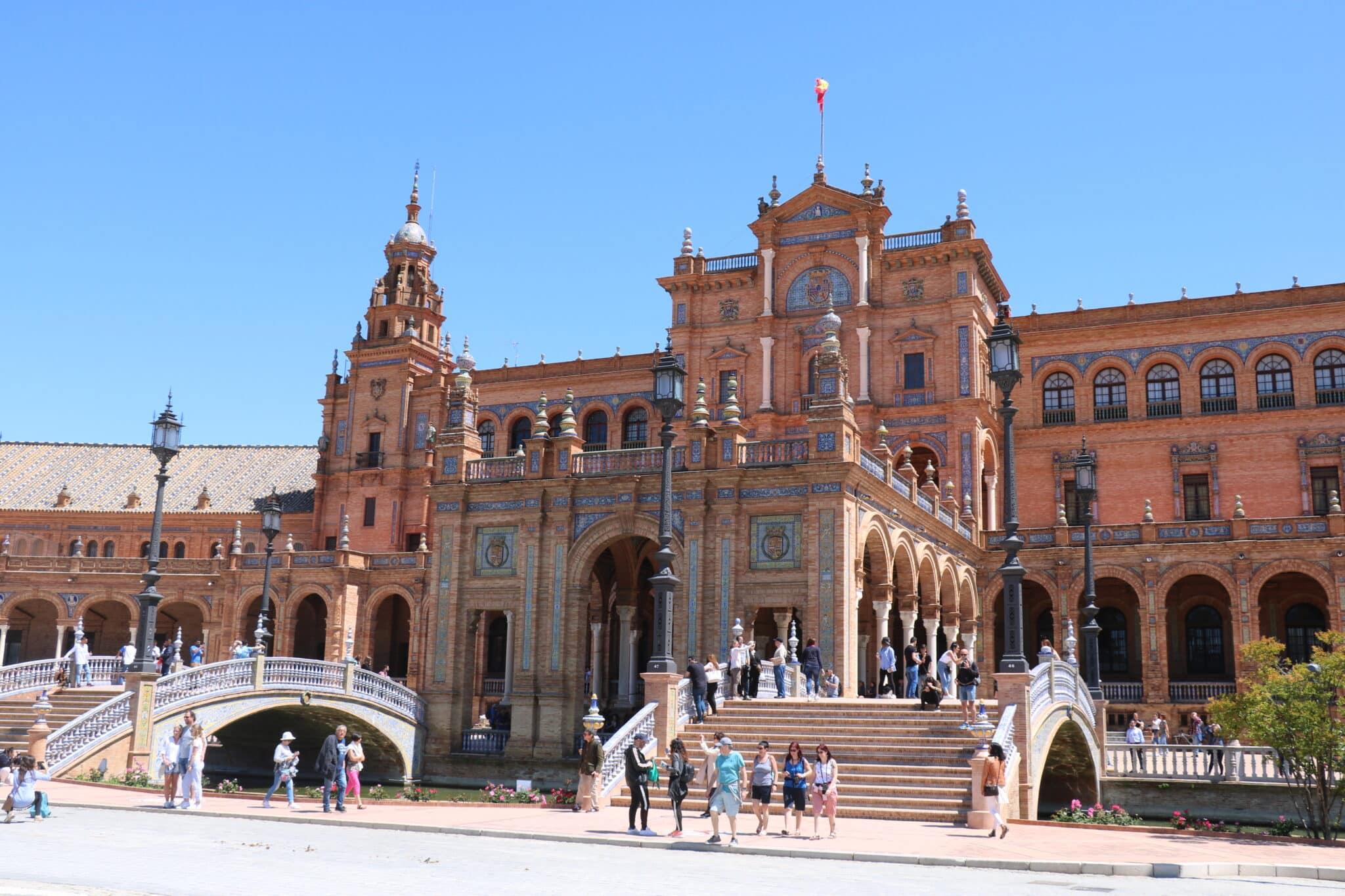 Het prachtige Plaza de Espana