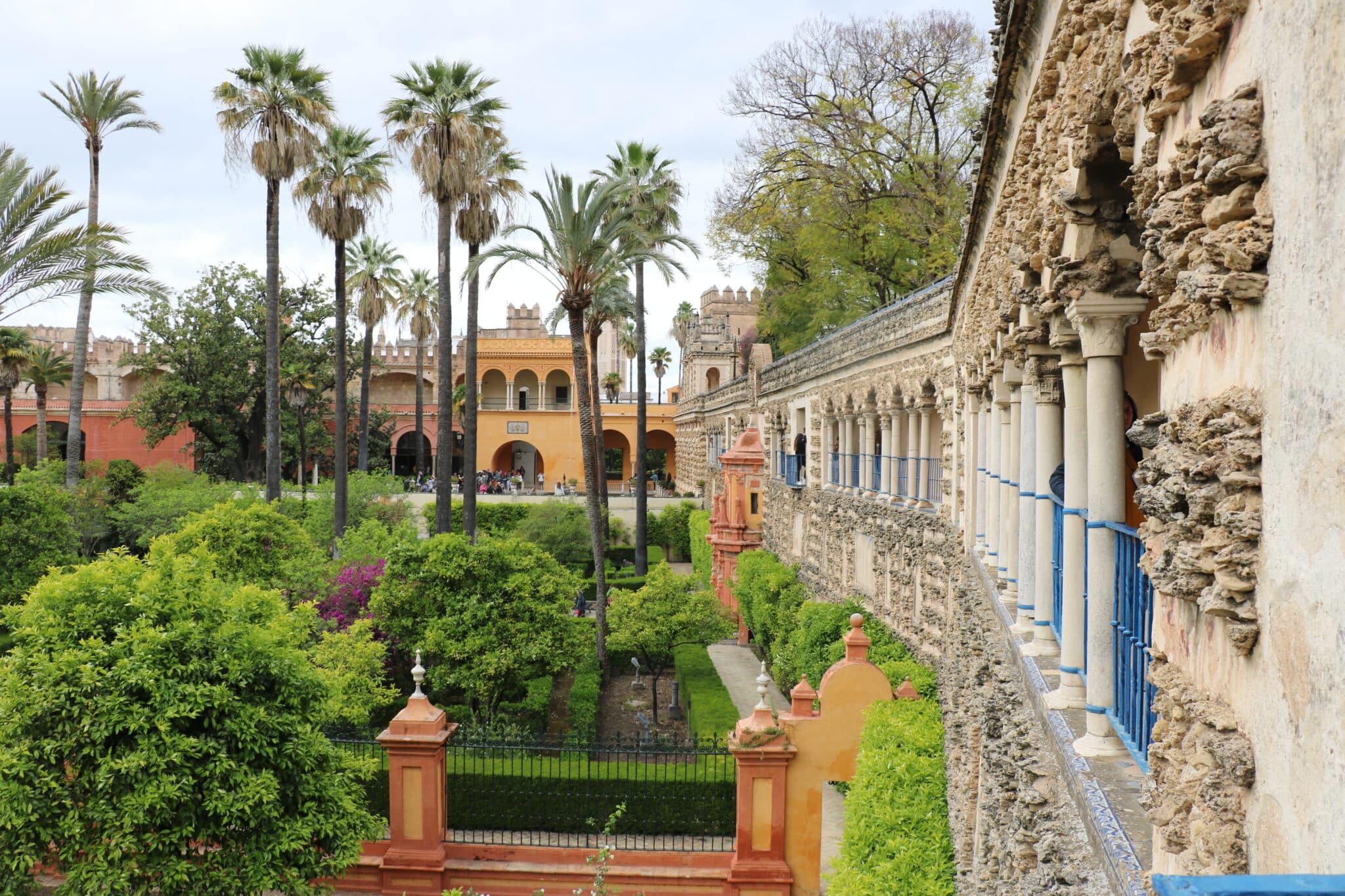 Het paleis in Sevilla