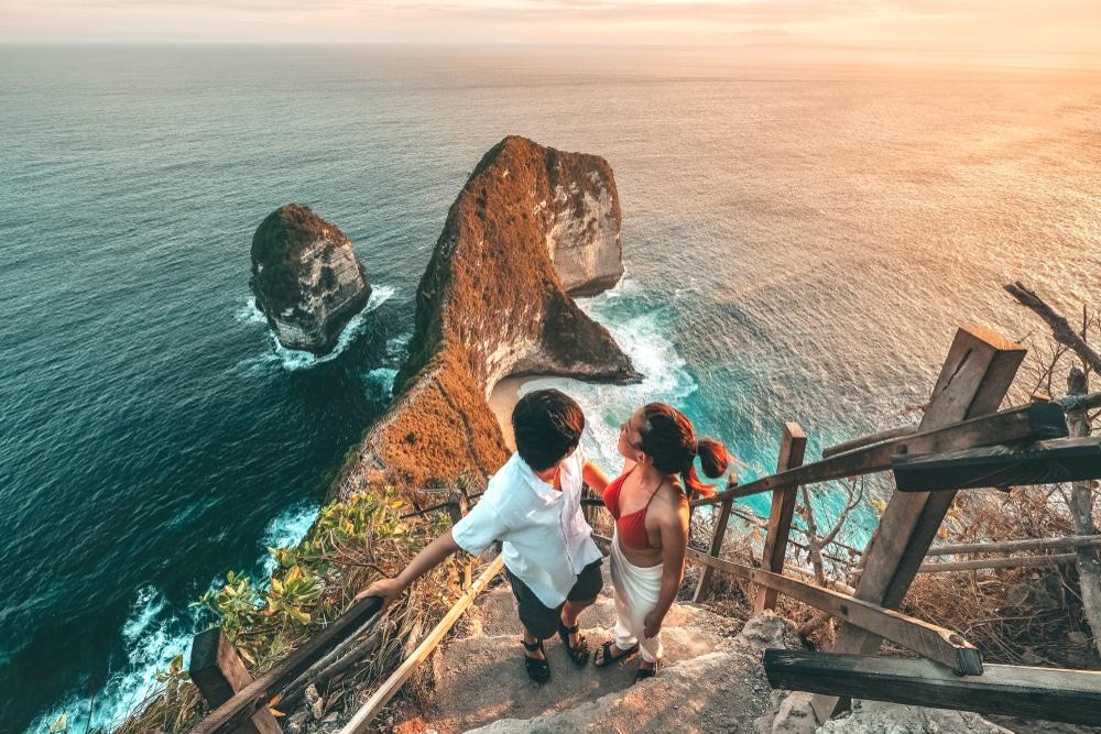 Romantische kiekjes in Nusa Penida