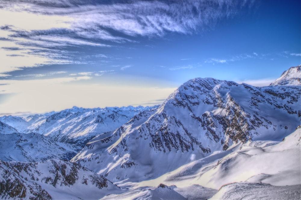 Skigebied Stubaital in Oostenrijk