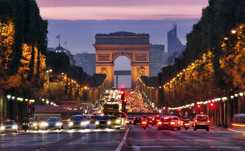 Beklim de Arc de Triomphe