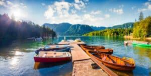 Bezoek het prachtige meer van Bohinj