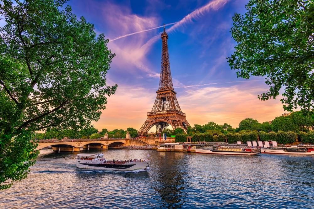 Het uitzicht over Parijs