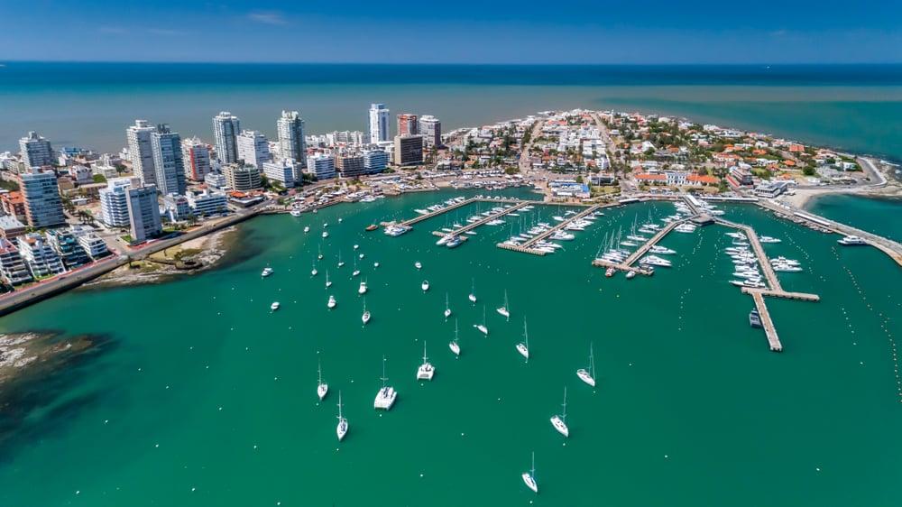 De luxe haven van Punta del Este