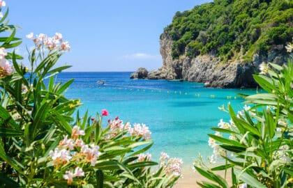 Strandhoppen op Corfu