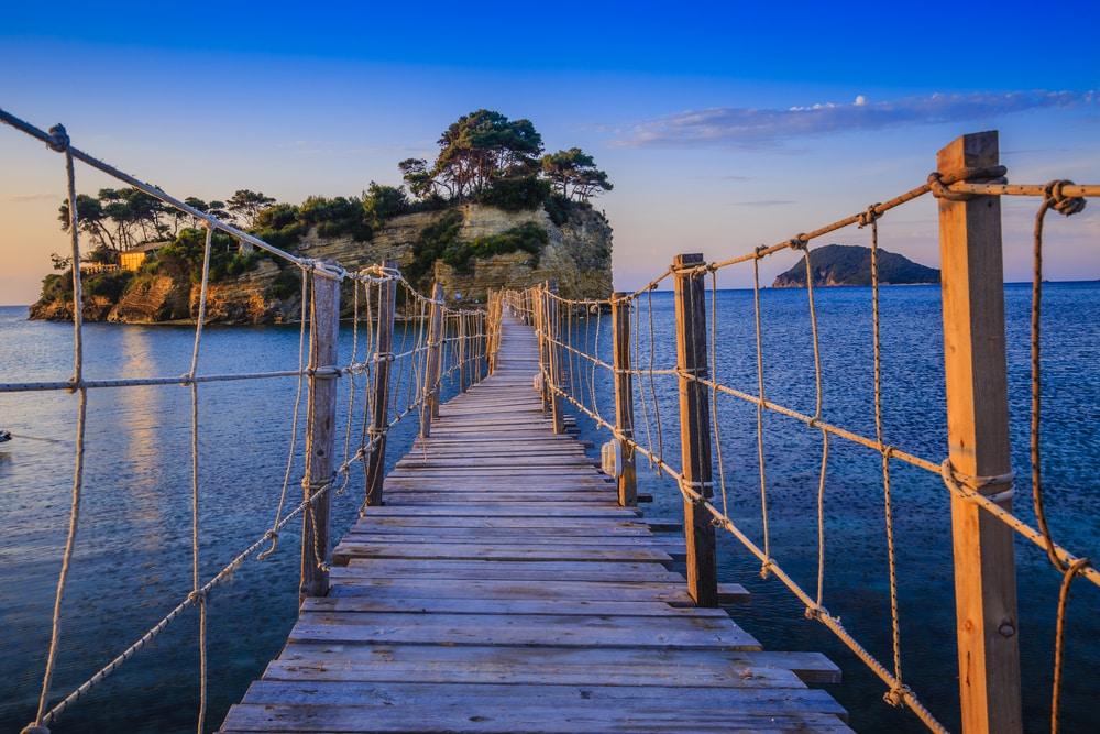 Wandel naar het Cameo Island