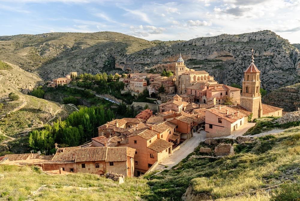 Het Spaanse dorp Albarracin