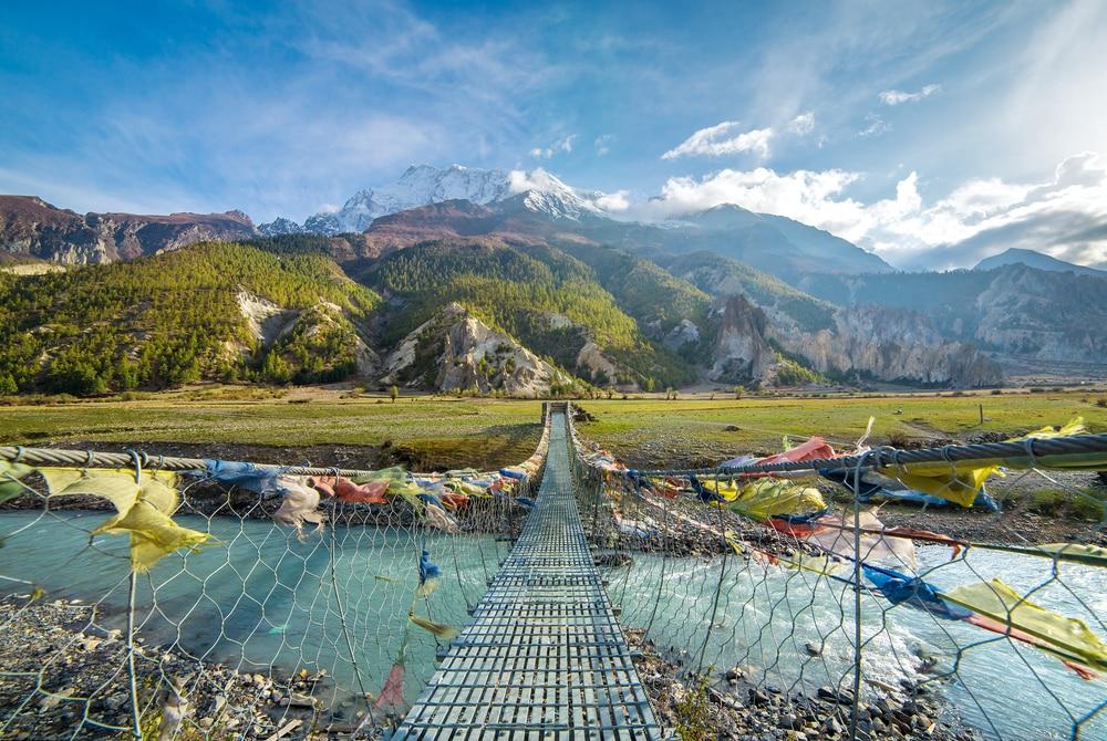 Maak een trekking door de Annapurna Circuit