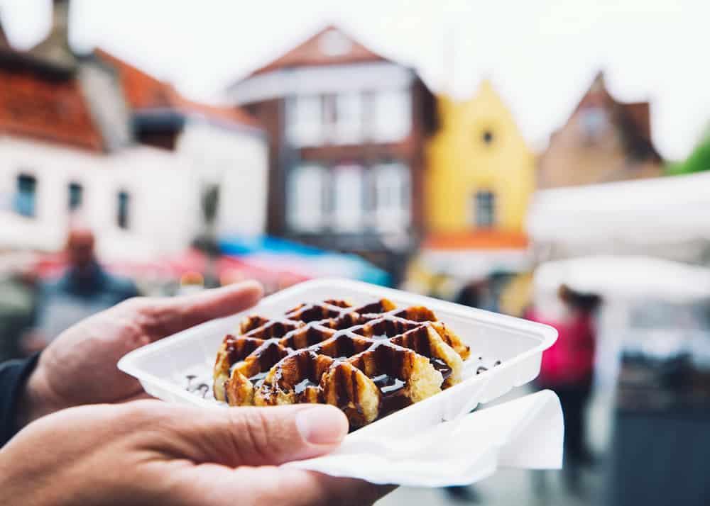 De lekkerste wafels vind je in Brugge
