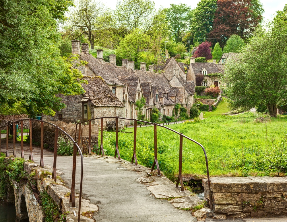 Het pittoreske dorpje Bibury