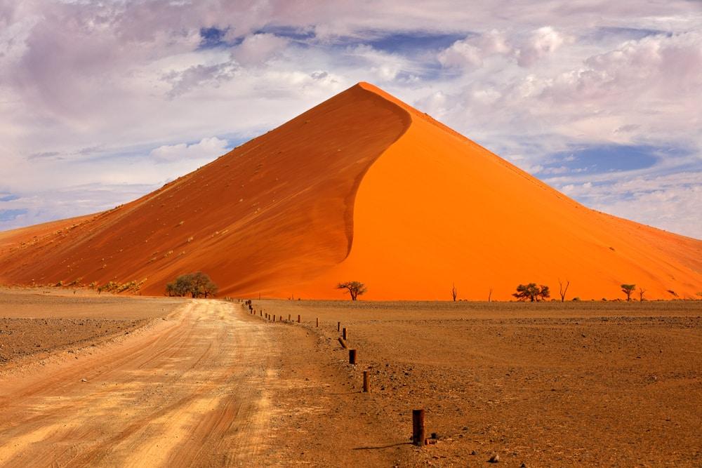 De grote zandduin Big Daddy