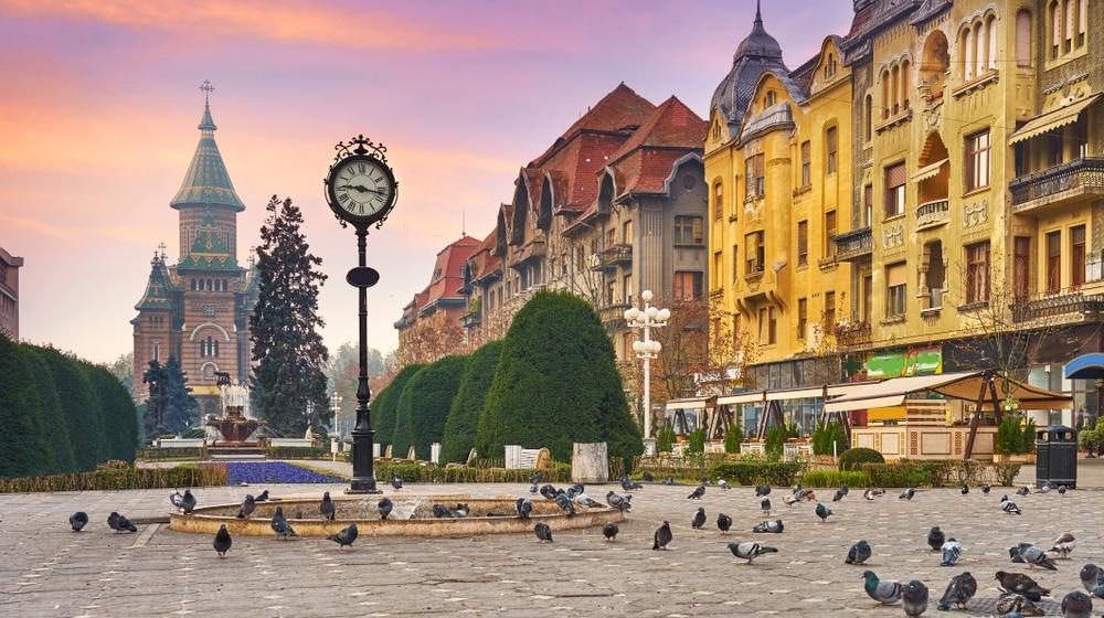 De hoofdstad Boekarest