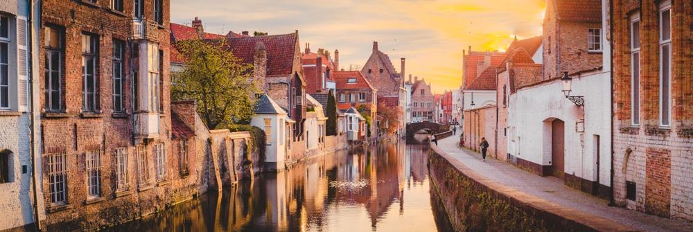 De prachtige stad Brugge