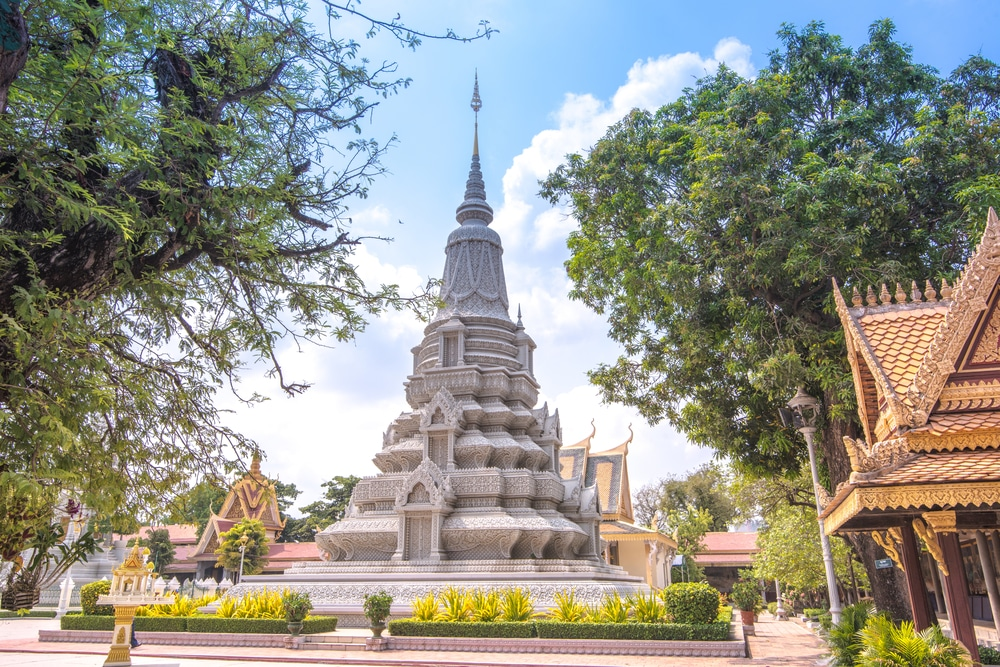 Paleis in Cambodja