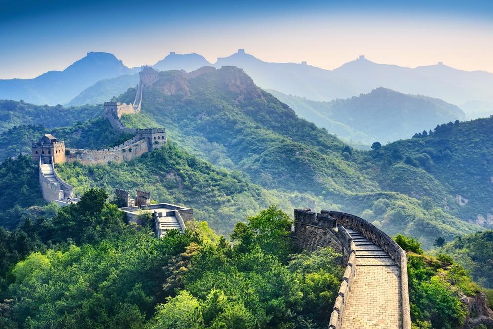 De oneindige muur in China