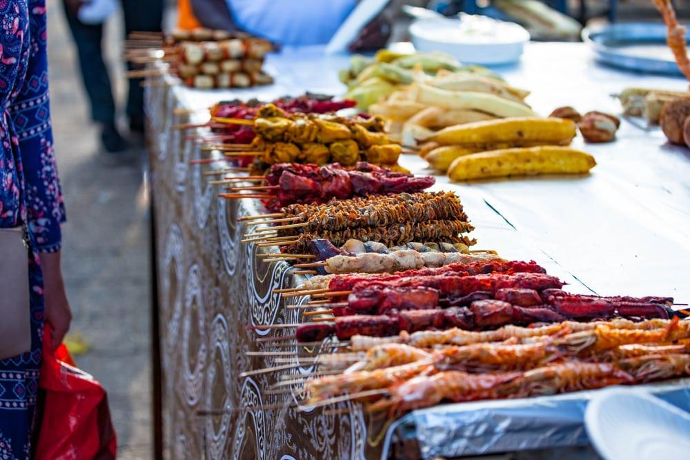 Proef de keuken van Zanzibar