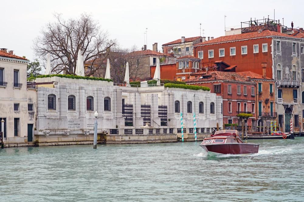 Het Guggenheim in Venetie