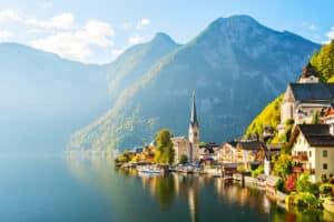 Het prachtige dorpje in Oostenrijk