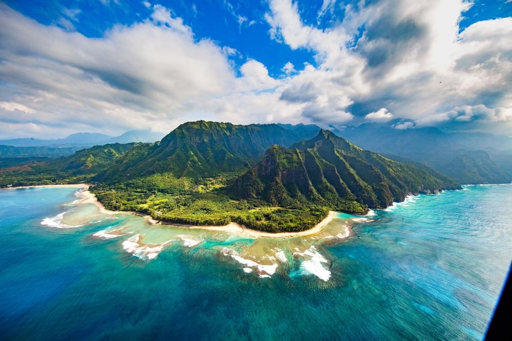 Het eiland Kauai