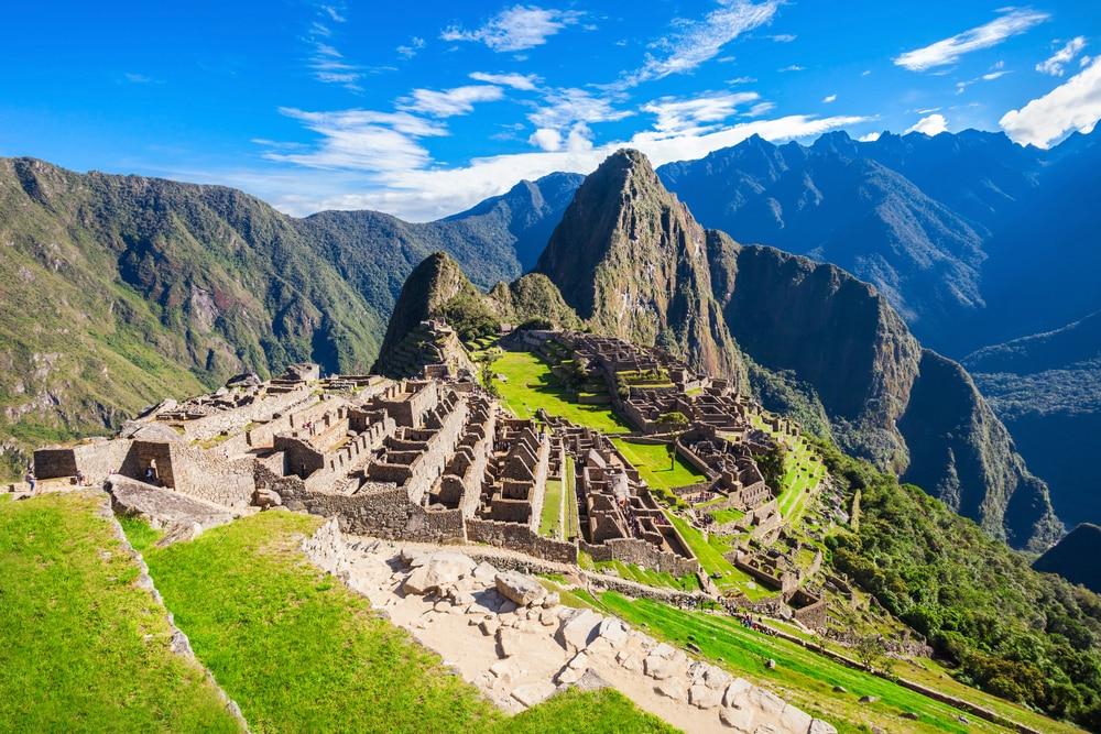 De mythische plaats in Peru
