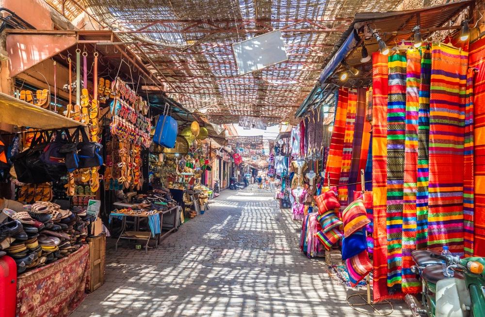 De kleurrijke markten van Marrakesh