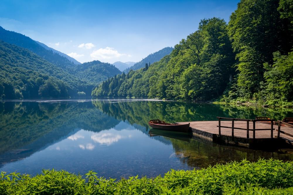 Het Biogradska meer