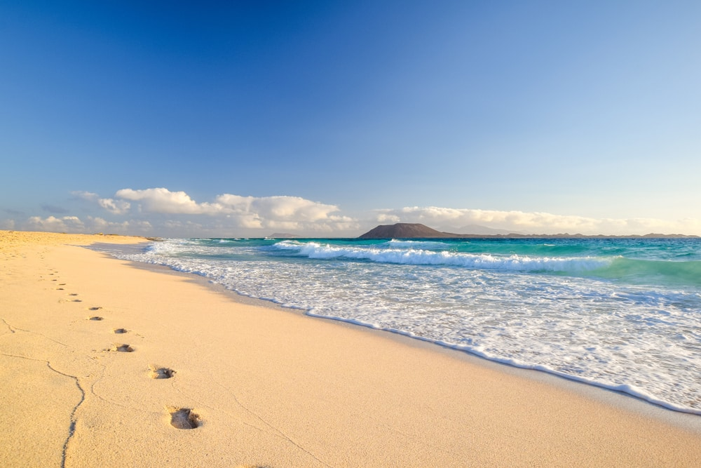 Het strand Playas de Corralejo