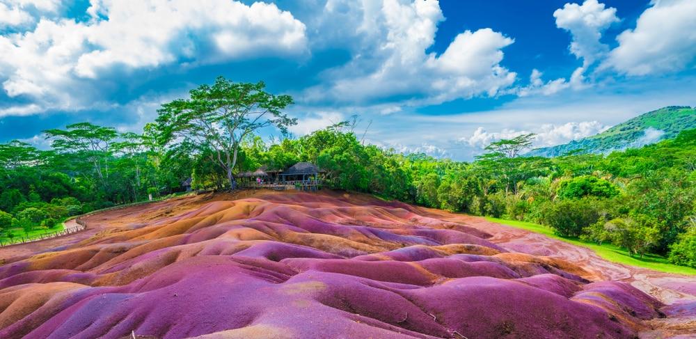 De kleurrijke natuur van Mauritius