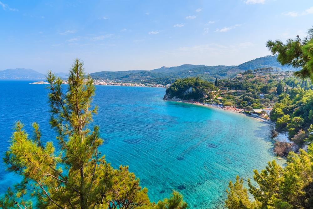 Een van de mooiste stranden van Samos